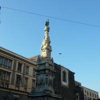 Foto scattata a Piazza del Gesù Nuovo da Natalie L. il 7/5/2012