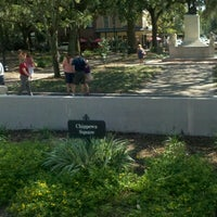 Forrest Gump S Bench Former Location Historic District North