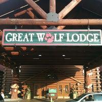 Das Foto wurde bei Great Wolf Lodge von Stephanie am 8/1/2012 aufgenommen