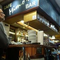 Foto scattata a Mimo's Cafe da Nathalia F. il 10/13/2011