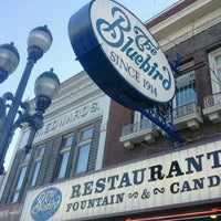 Photo taken at Bluebird Restaurant by Susen S. on 4/21/2012