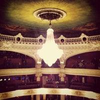 8/14/2012 tarihinde Nicolas R.ziyaretçi tarafından Teatro Municipal de Santiago'de çekilen fotoğraf