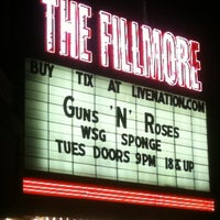 Foto tomada en The Fillmore Detroit por Katy J. el 2/23/2012