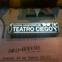 รูปภาพถ่ายที่ Centro Argentino de Teatro Ciego โดย Jorejo G. เมื่อ 1/15/2012