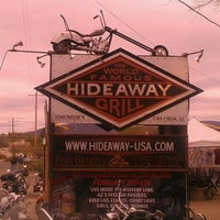 Photo taken at The Hideaway Grill by Mike R. on 1/21/2012