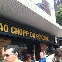 รูปภาพถ่ายที่ Ao Chopp do Gonzaga โดย Marcio Y. เมื่อ 2/12/2012