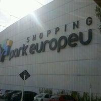 รูปภาพถ่ายที่ Shopping Park Europeu โดย Alexandre E. เมื่อ 7/21/2012