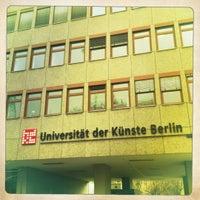 Das Foto wurde bei Universität der Künste (UdK) von Ann-Kristin D. am 3/1/2012 aufgenommen