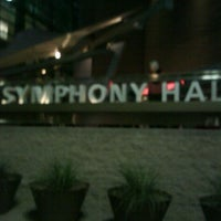 Photo taken at Symphony Hall by Nate R. on 10/30/2011