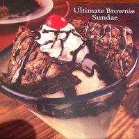 Longhorn Steakhouse Ultimate Brownie Sundae
