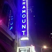 Das Foto wurde bei Paramount Theatre von William R. am 11/19/2011 aufgenommen
