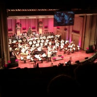 Photo prise au Copley Symphony Hall par Christiane .. le12/17/2011