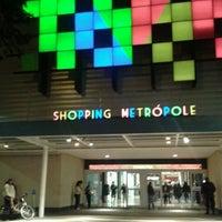 รูปภาพถ่ายที่ Shopping Metrópole โดย Caroline B. เมื่อ 7/9/2012