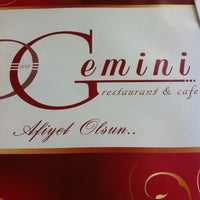 Photo prise au Gemini Cafe & Restaurant par D.D le6/8/2012