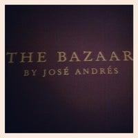 Foto tomada en The Bazaar by Jose Andres por Elton L. el 6/29/2012