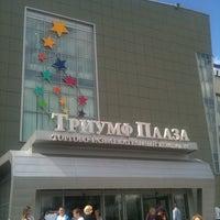 Снимок сделан в Триумф Плаза пользователем Oleg E. 6/30/2012