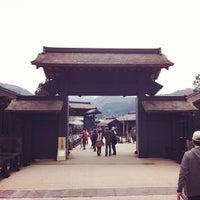 4/15/2012にceeflyerが箱根関所で撮った写真