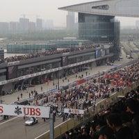 Das Foto wurde bei Shanghai International Circuit von Serena S. am 4/15/2012 aufgenommen