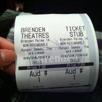 Foto tomada en Brenden Theaters por Rachel S. el 3/24/2012