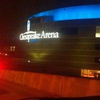 Foto tirada no(a) Chesapeake Energy Arena por Tony F. em 2/3/2012