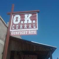 5/26/2012 tarihinde Eric V.ziyaretçi tarafından O.K. Corral'de çekilen fotoğraf