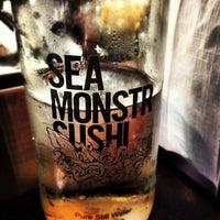 7/13/2012 tarihinde Justin Y.ziyaretçi tarafından Sea Monstr Sushi'de çekilen fotoğraf