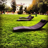 รูปภาพถ่ายที่ Hermitage Garden โดย Sergei M. เมื่อ 9/2/2012