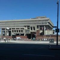 Снимок сделан в City Hall Plaza пользователем Timothy H. 5/19/2012