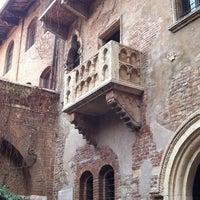 3/3/2012 tarihinde Agata J.ziyaretçi tarafından Casa di Giulietta'de çekilen fotoğraf