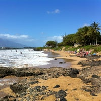 Photo taken at Kamaole Beach Park III by Nelson C. on 2/9/2012