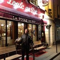 Снимок сделан в La Poule Au Pot пользователем Patrick R. 5/5/2012