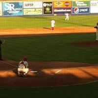 Photo prise au Spokane Indians Diamond Club par Chuck J. le7/30/2012