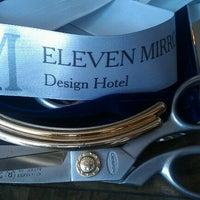 Das Foto wurde bei 11 Mirrors Design Hotel von Galina M. am 6/8/2012 aufgenommen
