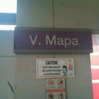 Foto tirada no(a) LRT 2 (V. Mapa Station) por Wendell R. em 6/17/2012