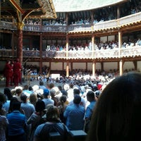 7/24/2012에 Lilly N.님이 Shakespeare's Globe Theatre에서 찍은 사진