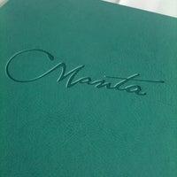 Foto diambil di Manta Restaurant oleh Sanny W. pada 2/26/2012