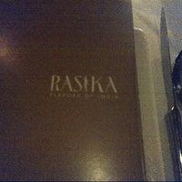Foto tirada no(a) Rasika por Scott R. em 9/1/2012