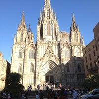 Foto tomada en Catedral de la Santa Cruz y Santa Eulalia por María el 6/14/2012