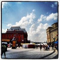Снимок сделан в Площадь Революции пользователем Иван Н. 8/17/2012