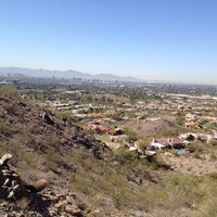 Photo taken at Phoenix Mountains Park and Recreation Area by Georgene M. on 3/4/2012