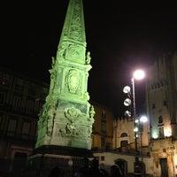 Foto scattata a Piazza San Domenico Maggiore da Katia D. il 4/14/2012
