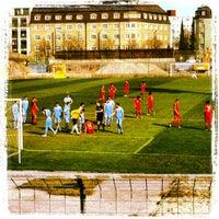 Foto scattata a Städtisches Stadion an der Grünwalder Straße da Benjamin S. il 4/10/2012