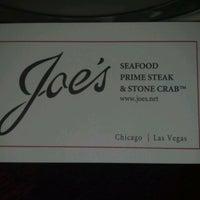 6/9/2012 tarihinde Henry L.ziyaretçi tarafından Joe's Seafood, Prime Steak & Stone Crab'de çekilen fotoğraf