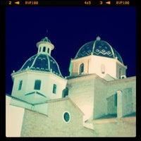 Foto tomada en Plaça de l'Església / Plaza Iglesia Altea por Francesc G. el 7/29/2012