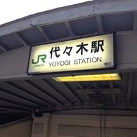 3/22/2012にすーが代々木駅で撮った写真