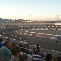 Photo prise au Bullring at Las Vegas Motor Speedway par Javier K. le6/17/2012