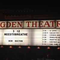 Снимок сделан в Ogden Theatre пользователем Lindsay 3/13/2012