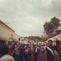Foto tirada no(a) Mercado Artesanal de Tepoztlán por Gaby R. em 3/4/2012