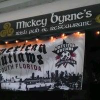 Foto tomada en Mickey Byrne's Irish Pub por Pabony R. el 6/3/2012
