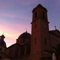 Foto tomada en Plaça de l'Església / Plaza Iglesia Altea por Instituto Bernabeu el 8/6/2012